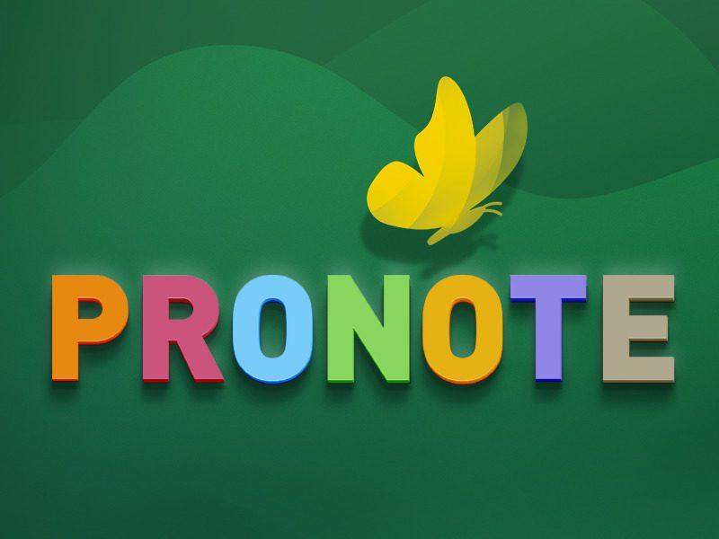 Présentation Pronote Parents
